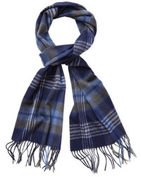 Saks Fifth Avenue Exploded Plaid Scarf