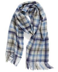 Heritage plaid cashmere scarf medium 834789
