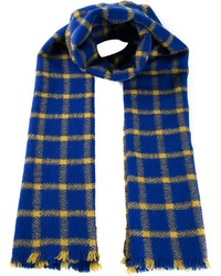 Marni Plaid Scarf