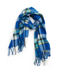 Topman Plaid Scarf