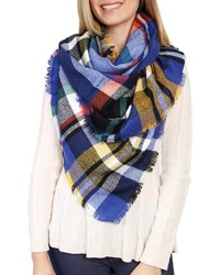 Riah Fashion Blanket Plaid Scarf