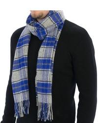 Johnstons of Elgin Simple Check Scarf Wool