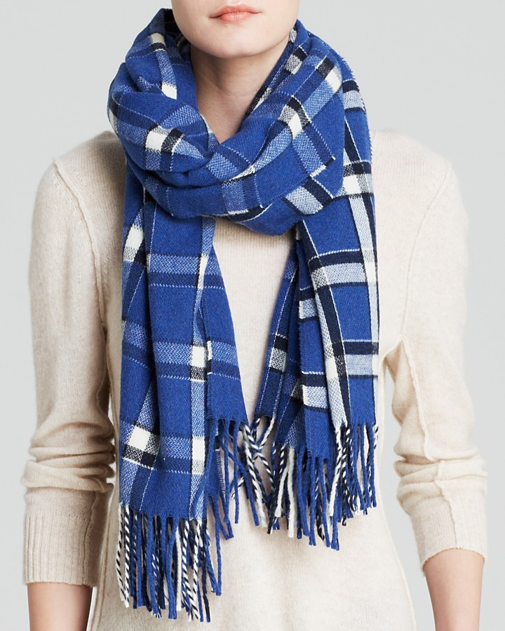 Marc by Marc Jacobs Toto Plaid Scarf | Where to buy & how to wear