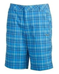Puma Golf Shorts Brilliant Blue Multi Plaid All Sizes Dri Fit 563776 01