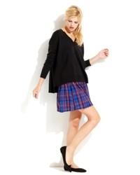 QMack Plaid Skirt