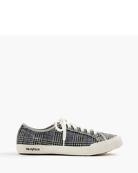 J.Crew Seavees For 0667 Monterey Sneakers In Glen Plaid
