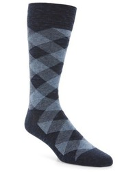 Cole Haan Twist Plaid Socks