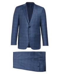 Ermenegildo Zegna Milano Achillfarm Classic Fit Plaid Suit