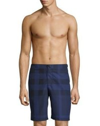 35ee7f52fccdb Men's Blue Shorts by Burberry | Men's Fashion | Lookastic.com