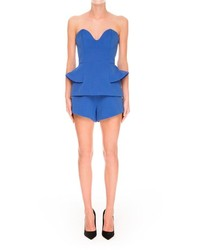Finders Keepers Strapless Peplum Playsuit