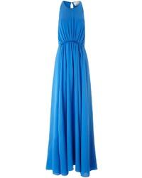 3.1 Phillip Lim Gean Blue Gathered Waist Gown