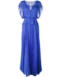 Pleated skirt layered gown medium 3716538