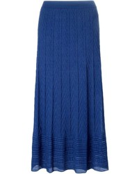 M missoni knit maxi skirt medium 221355
