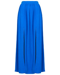 Topshop Spliced Maxi Skirt