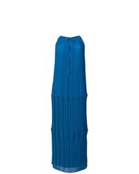 P.A.R.O.S.H. Pleated Column Dress
