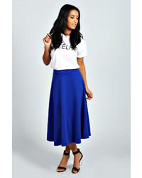 Arianna plain full circle midi skirt medium 222858