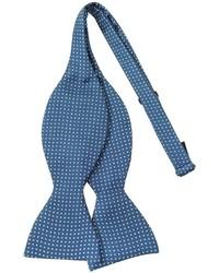 Forzieri Small Polkadot Self Tie Silk Bowtie
