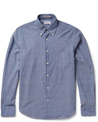 Gant Rugger Printed Cotton Chambray Shirt