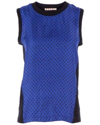 Marni polka dot tank top medium 205744
