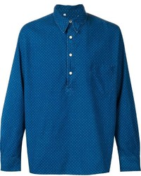 Levi's Vintage Clothing Polka Dot Denim Shirt
