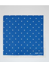 Reiss Garbo Polka Dot Pocket Square