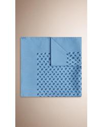 Burberry Paisley Print Silk Pocket Square