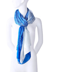 The Limited Cascading Dot Print Scarf