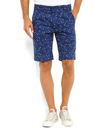 Levi's Blue Dotted Chino Shorts