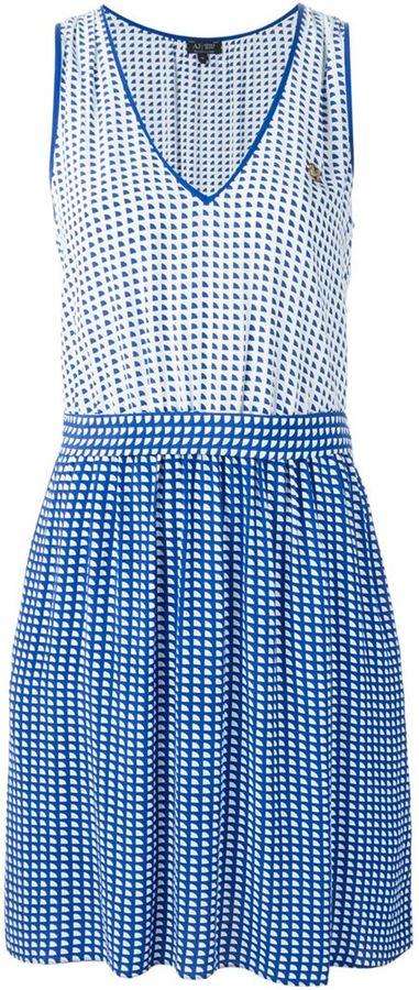 3440bd769e ... Armani Jeans Dotted Pattern Dress