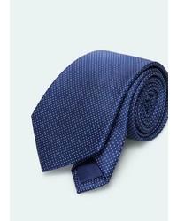 Mango Outlet Polka Dot Patterned Tie