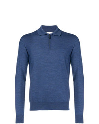 Brioni Front Zipped Polo Shirt
