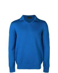 Roberto Collina Knitted Polo Shirt