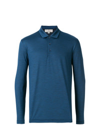 Canali Long Sleeved Polo Top