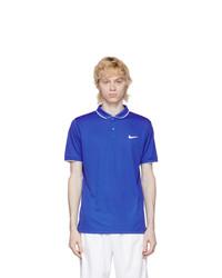 Nike Blue Dri Fit Polo