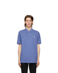 Polo Ralph Lauren Blue Mesh Iconic Polo