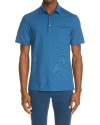 Ermenegildo Zegna Cotton Pique Polo Shirt