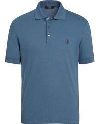 Ermenegildo Zegna Embroidered Polo Shirt