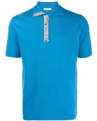 Dirk Bikkembergs Logo Short Sleeve Polo Shirt