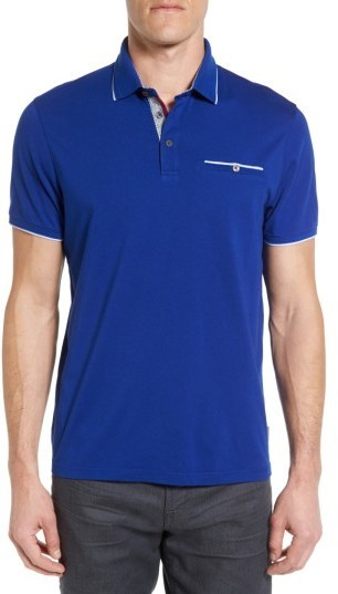 6127e43eb ... Ted Baker London Derry Modern Slim Fit Polo ...