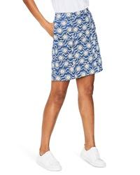 Boden Print A Line Skirt