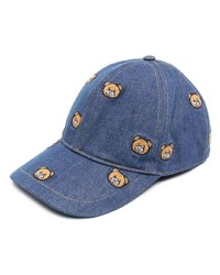 Moschino Teddy Embroidered Cap