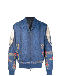 Versace Collection Reversible Japanese Print Bomber