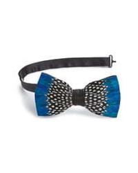 Brackish & Bell Durham Feather Bow Tie