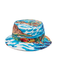 R13 Printed Cotton Twill Bucket Hat