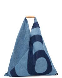 MM6 MAISON MARGIELA Blue Denim Japanese Tote