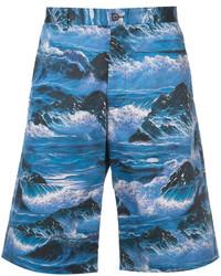 Waves print bermuda shorts medium 4394408