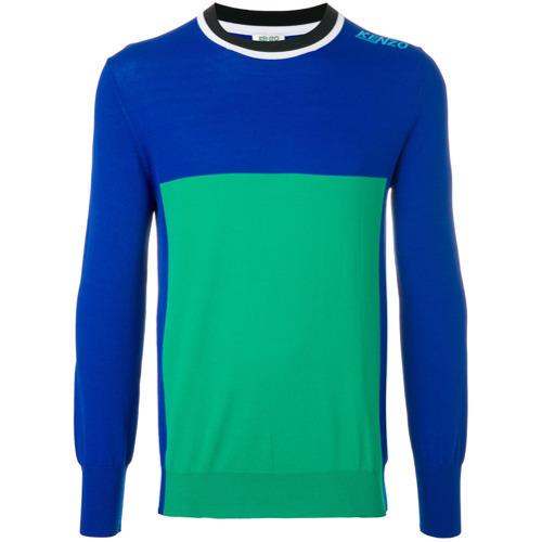 ebea91039821a ... Kenzo Colour Block Sweater ...