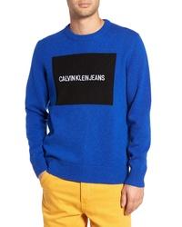 Calvin Klein Jeans Logo Wool Sweater