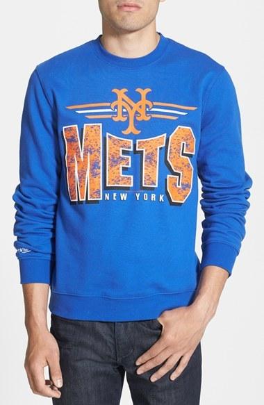 premium selection fb35c 90b8b $60, Mitchell & Ness New York Mets Crewneck Sweatshirt
