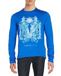 Versace printed crewneck shirt medium 590948